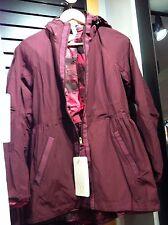 Lululemon Rain for Daze Jacket Bordeaux Drama Pigment Berry Rumble 4 6 8