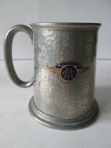 Motor club Dodd cup 1947.Motor club cup. motorsport trophy. Rally cup.