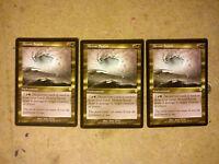 MTG Meteor Storm x 3 - Rare - Invasion - Magic The Gathering Cards Lot