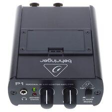 BEHRINGER POWERPLAY P1 mini amplificatore per cuffie stereo/mono level balance