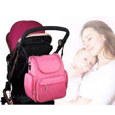 Baby Diaper Nappy Changing Bag Mummy Maternity Shoulder Backpack Big Capacity