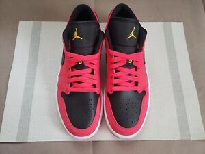 Women's Nike Air Jordan 1 Low Siren Red Black DC0774-600 Size 11(W)