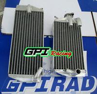 R&L Aluminum radiator SUZUKI RMZ450 RMZ 450 2005 05