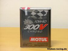 14,25€/l Motul 300 V Chrono 10W-40 Rennmotorenöl 2 L