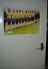Brazil Pele World Cup 1970 Wonder Team Poster