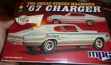 MPC 1/25 829 1967 Dodge Charger Great Street Machine Model Car Mountain KIT fs