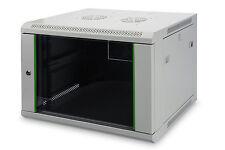 "19"" Netzwerkschrank/Wandgehäuse 9HE HxBxT 506x600x450 / DIGITUS® DN-19 09-U-EC"