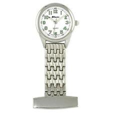 Ravel Unisex Silver Tone Professional Nurses Fob Watch R1101.02