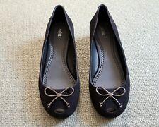 Kurt Geiger Melissa Size 6 Ultragirl High black synthetic court shoes.New