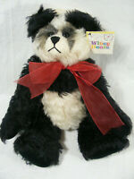 "Whiney Bears Mohair Panda Sally Winey ""Bambooie"" 13"" Jointed"