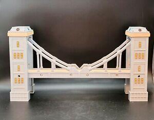 "IMAGINARIUM Train Suspension Bridge Lights and Sounds Thomas Train 15"" long"