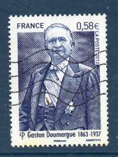 """FRANCE OBLITERE 2013 """" GASTON DOUMERGUE """"  N° 4793"""