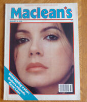 Maclean's Magazine Carole Laure Paul Anka Margaret Thatcher August 13 1979