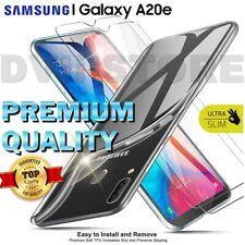 CUSTODIA per SAMSUNG Galaxy A20e Cover TPU ,Pellicola VETRO Temperato Protezione
