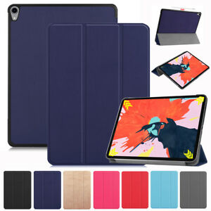 """Smart Case Cover For Apple iPad Pro 12.9"""" 11"""" 2018 support Apple Pencil Charging"""