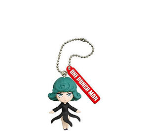 One Punch Man Anime Mascot Keychain SD Figure Tornado of Terror~Tatsumaki @83091