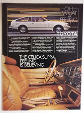 1981 Toyota Celica Supra Ad - Must See !!