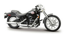 HARLEY-DAVIDSON 2002 FXSTB Night Train Noir échelle 1:24 de Maisto