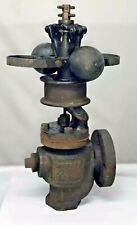 1-1/4 Waters Boston Vertical 2 Fly Ball Governor Steam Hit Miss Engine Cast Iron