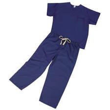 Scrub Shirt,M,Navy,4.6 oz. 910JNTM-CM