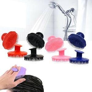 4 Pack Hair Scalp Massage Shampoo Brush Massager Exfoliating New
