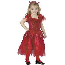 Girl's Toddler Devil Dress Costume