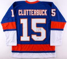 Cal Clutterbuck Signed New York Islanders Jersey / Beckett Coa / Right Winger