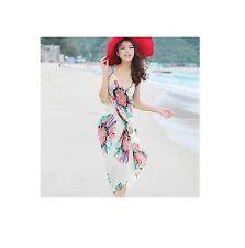 Mujer Chifón Vestido Pareo Sarong de Playa - Talla Única - 3 Colores - Cómodo