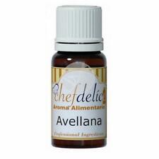 AROMA AVELLANA CONCENTRADO SIN GLUTEN CHEFDELICE 10 ML