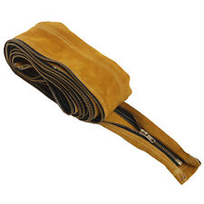 """AP-9006Z TIG Cowhide Leather Welding Torch Cable Cover 12' Long 4"""" Wide w/Zipper"""