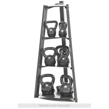 Apex 3-Tier Kettlebell Weights Storage Rack Horizontal Gym Equipment VKBS-1N