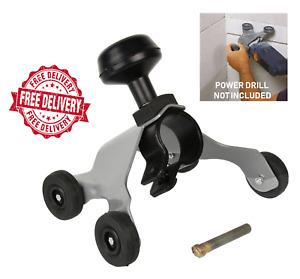 Wall Chaser Drill Attachment with 12mm CT Cutter for Power Drills