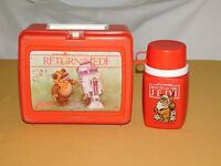 VINTAGE 1983 PLASTIC LUNCH BOX RETURN OF THE JEDI with THERMOS