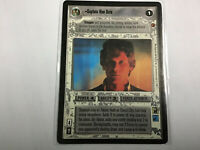 Star Wars Game Card Captain Han Solo - Cloud City - Smuggler Rebel Light Side