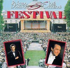 PLACIDO DOMINGO & JOSE CARRERAS : FESTIVAL / CD (SONY MUSIC SMK 53534)