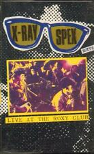 X-ray Spex Live at The Roxy Cassette 8 Track (rrcl140) UK Receiver 1991