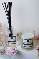Luxury Scented Cosy Home Soy Wax Candles & Reed Diffuser With Elegant Gift Box