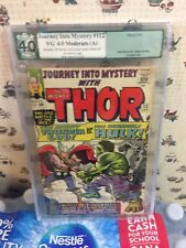 Journey into Mystery 112 PGX 4.0 (R) The Mighty THOR Battles The INCREDIBLE HULK