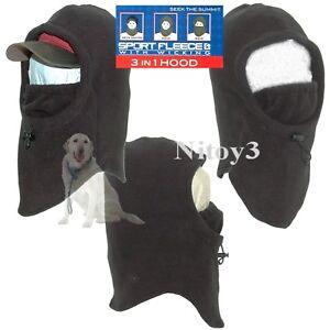 Grand Sierra Sport Fleece Hood-Balaclava-Face Mask One Size Men  (T)