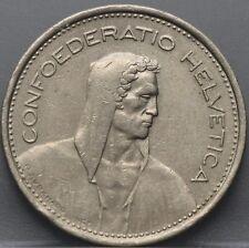 1968 Zwitserland - Switzerland - 5 francs 1968 - KM# 40a.1
