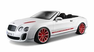 Bentley Continental Supersports Convertible ws, Bburago Diamond Collezione 1:18