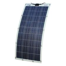 150W Semi-flexible Solar Panel for Motorhome,RV,Boat with Eyelets and Fasteners