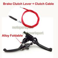 Red Brake Clutch Lever Cable For 110cc 125cc 150 160 cc Pit Dirt Bike CRF50 XR50