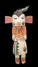 Ancienne Poupée style Hopi Talavai-i- Kachina amérindienne 29 cm 40