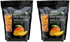 2 Pack Kirkland Signature Unsweetened Unsulfured Organic Dried Mango 2.5 Ib