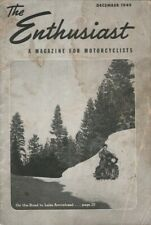 1949 December - The Enthusiast - Vintage Harley-Davidson Motorcycle Magazine