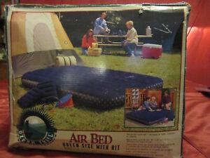 Ozark Trail QUEEN Size Anywhere Bed Air Mattress with 2 Pillows & Air Pump