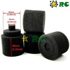 4pc 1/8 RC Nitro Engine Buggy Air Dust Filter External Spare Replacement Sponges