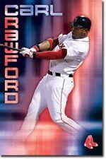 BASEBALL POSTER Carl Crawford Boston Red Sox MLB