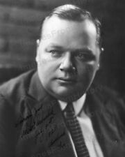 8x10 Print Roscoe Fatty Arbuckle Portrait by Melbourne Spurr #RA39